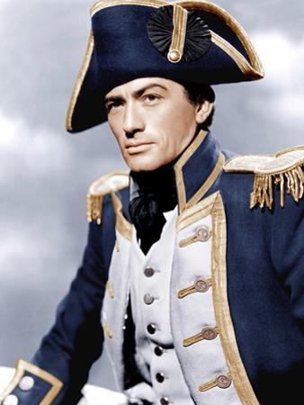CAPTAIN HORATIO HORNBLOWER, Gregory Peck, 1951