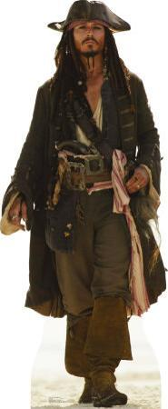 Captain Jack Sparrow Lifesize Standup