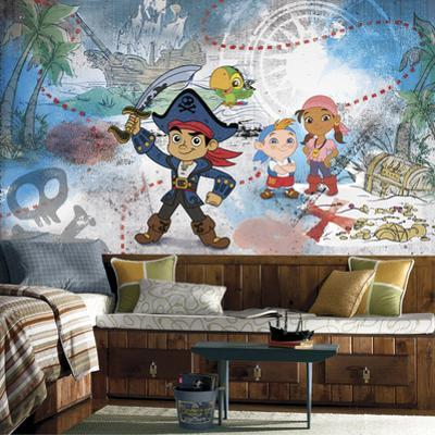 Captain Jake & the Never Land Pirates XL Chair Rail Prepasted Mural