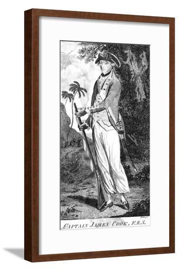 Captain James Cook--Framed Giclee Print