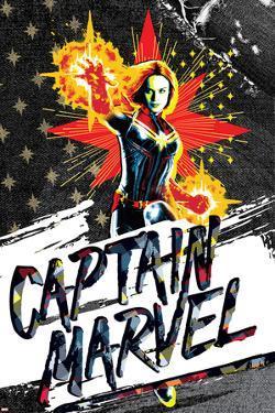 Captain Marvel - Denim