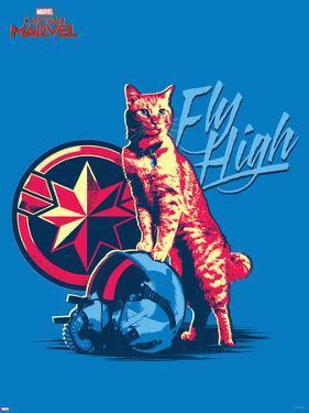 Captain Marvel - Fly High