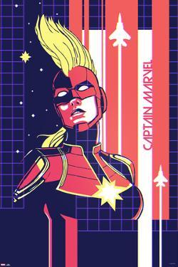 Captain Marvel - Grid