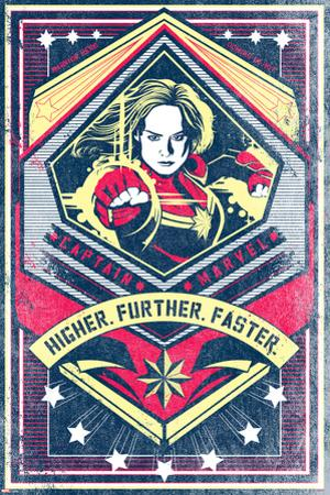 Captain Marvel - Higher Further Faster