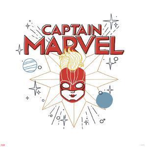 Captain Marvel - Illustration