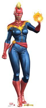 Captain Marvel - Marvel Contest of Champions Game Lifesize Cardboard Cutout