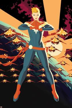 Captain Marvel No.1 Cover