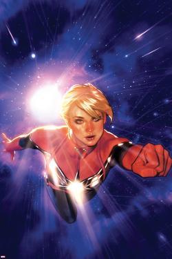 Captain Marvel No.1 Cover