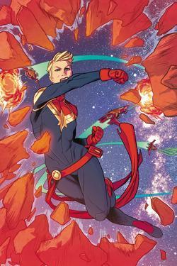 Captain Marvel No.1 Panel