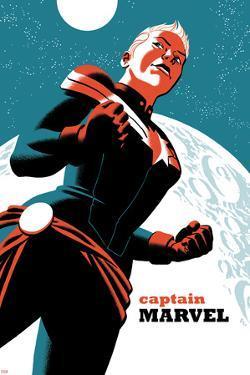 Captain Marvel No.2 Cover