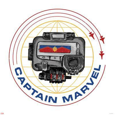 Captain Marvel - Pager