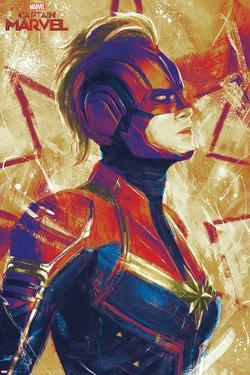 Captain Marvel - Painterly