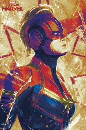 Captain Marvel - Painterly