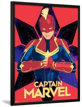 Captain Marvel - Pop Art