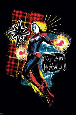 Captain Marvel - Punk