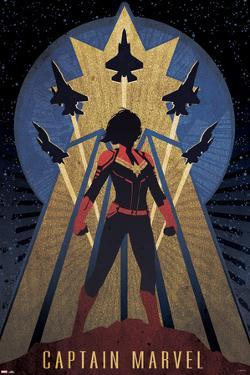 Captain Marvel - Vintage