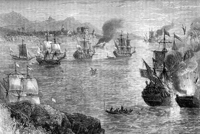 Captain Morgan's Defeat of the Spanish Fleet, 1660S