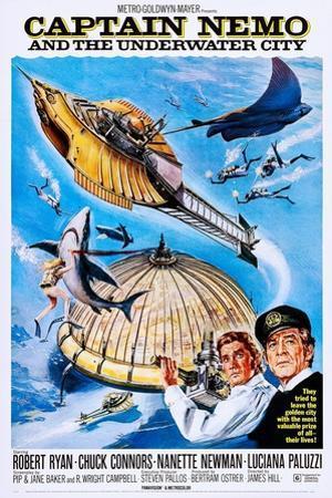 Captain Nemo and the Underwater City