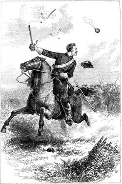 Captain Northrop Leading the Attack at Knoxville, Tennessee, American Civil War, 1863