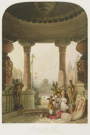 Portico of a Hindoo Temple