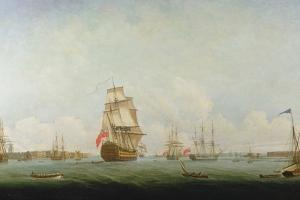 Victory Leaving Portsmouth by Captain William Elliott