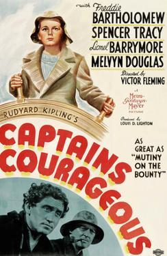 Captains Courageous, Freddie Bartholomew, Spencer Tracy, Lionel Barrymore, 1937