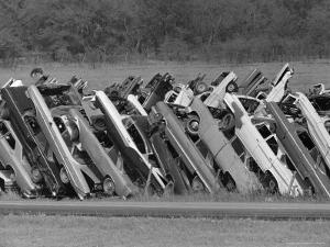 Car Fence, Ferris, Texas, c.1972