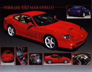 Car Ferrari 550 Maranello