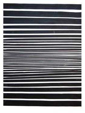 Black & White Stripes by Cara Francis