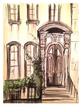 Brownstone Entryway by Cara Francis