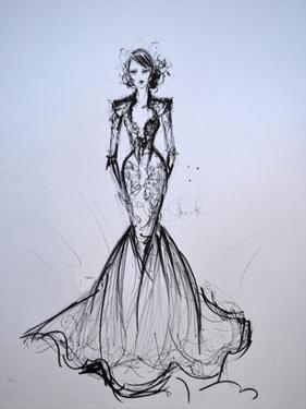 Lace Gown by Cara Francis