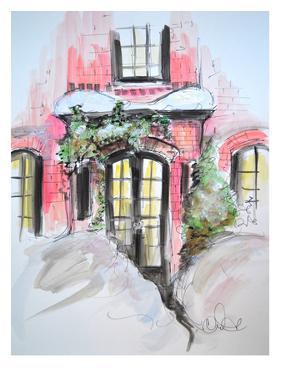 Snowy Bricks in Beacon Hill by Cara Francis