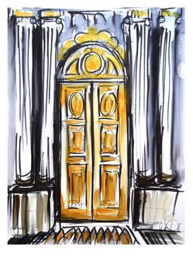 Versailles Doors 1 by Cara Francis