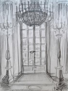 Versailles Window by Cara Francis