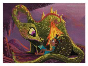 Dragon Read by Cara Kozik