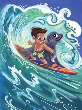Leowen Surfs by Cara Kozik
