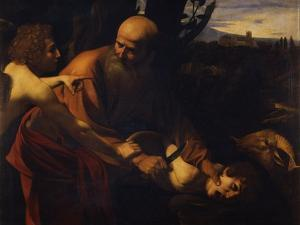 Abraham Sacrificing Isaac, 1603-1604 by Caravaggio