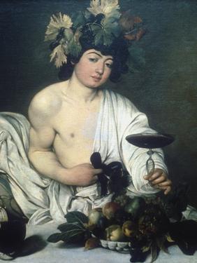 Bacchus, C1597 by Caravaggio