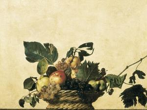 Basket with Fruit by Caravaggio