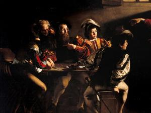 Calling of St. Matthew by Caravaggio