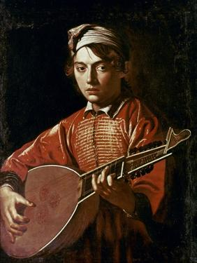 Caravaggio: Luteplayer by Caravaggio