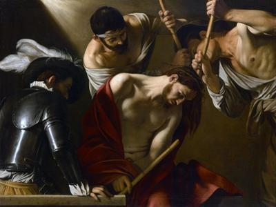 Christ Crowned with Thorns, 1603-1604 by Caravaggio