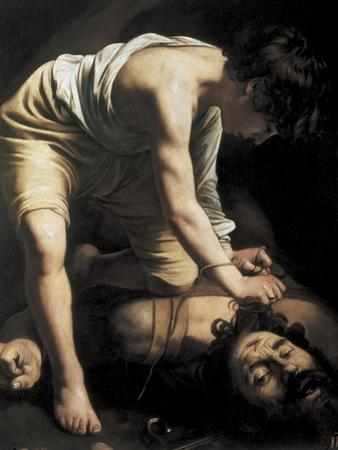 David Victorious over Goliath by Caravaggio