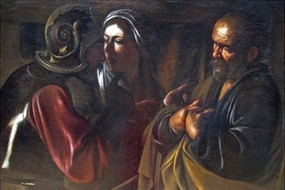 Denial of St. Peter by Caravaggio
