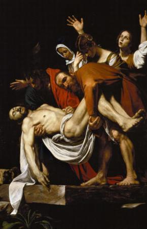 Deposition, 1602-4 by Caravaggio