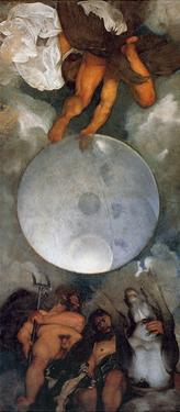 Jupiter, Neptune and Pluto, Ca. 1597 by Caravaggio