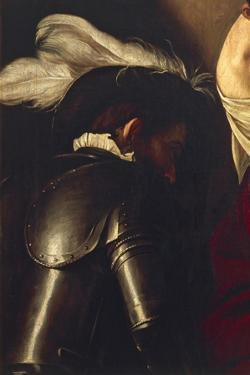 Man in Armor, Detail from Crowning with Thorns by Caravaggio