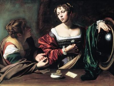 Martha and Mary Magdalene, C. 1598 by Caravaggio