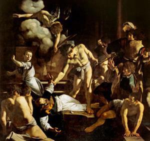 Martyrdom of St. Matthew by Caravaggio