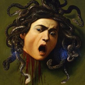 Medusa, 1596-1598 by Caravaggio